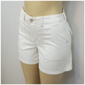 Gloria Vanderbilt Shorts - GLORIA VANDERBILT, Highlighted Stitching Shorts, 6